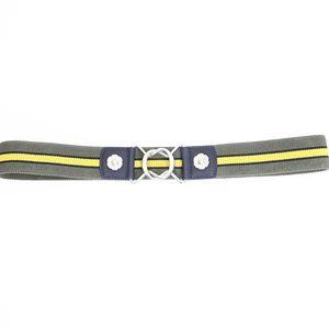 Express Elastic Stretch Belt New Military Stripe